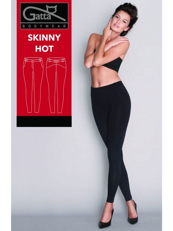 Брюки SKINNY HOT SPODNIE Gatta (XL, black)